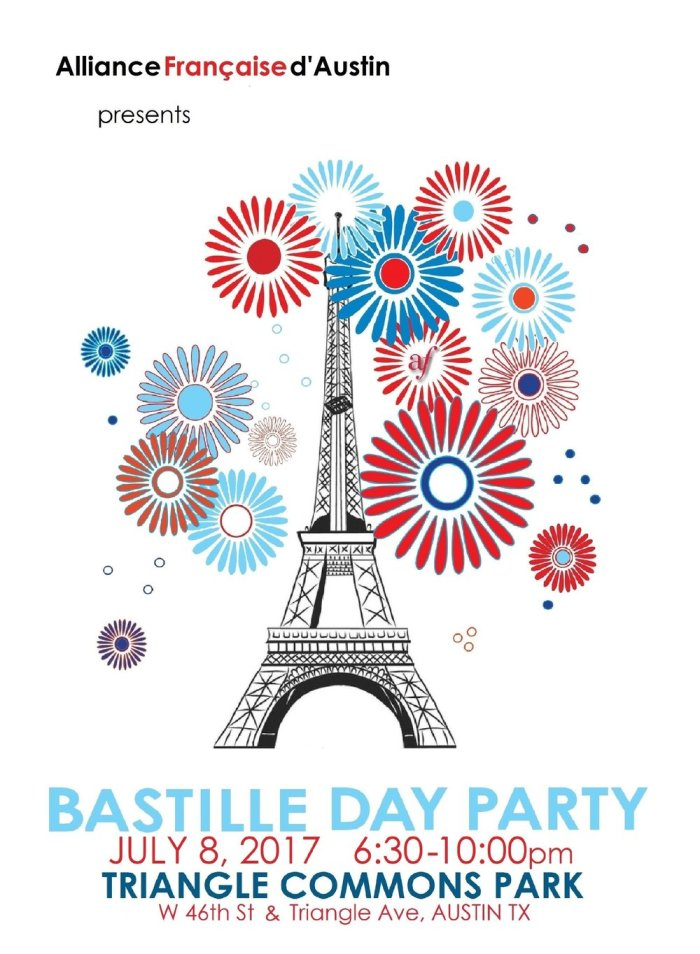 Bastille Day party poster